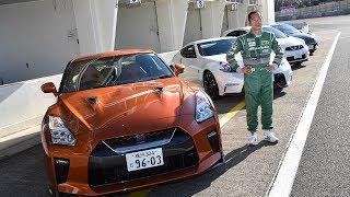 ドリキン土屋が最新の日産車を辛口評価! King of Drift keichi tsuchiya new nissan circuit impression