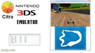 Citra 3DS Emulator - DreamWorks Super Star Kartz Gameplay HW renderer enabled!
