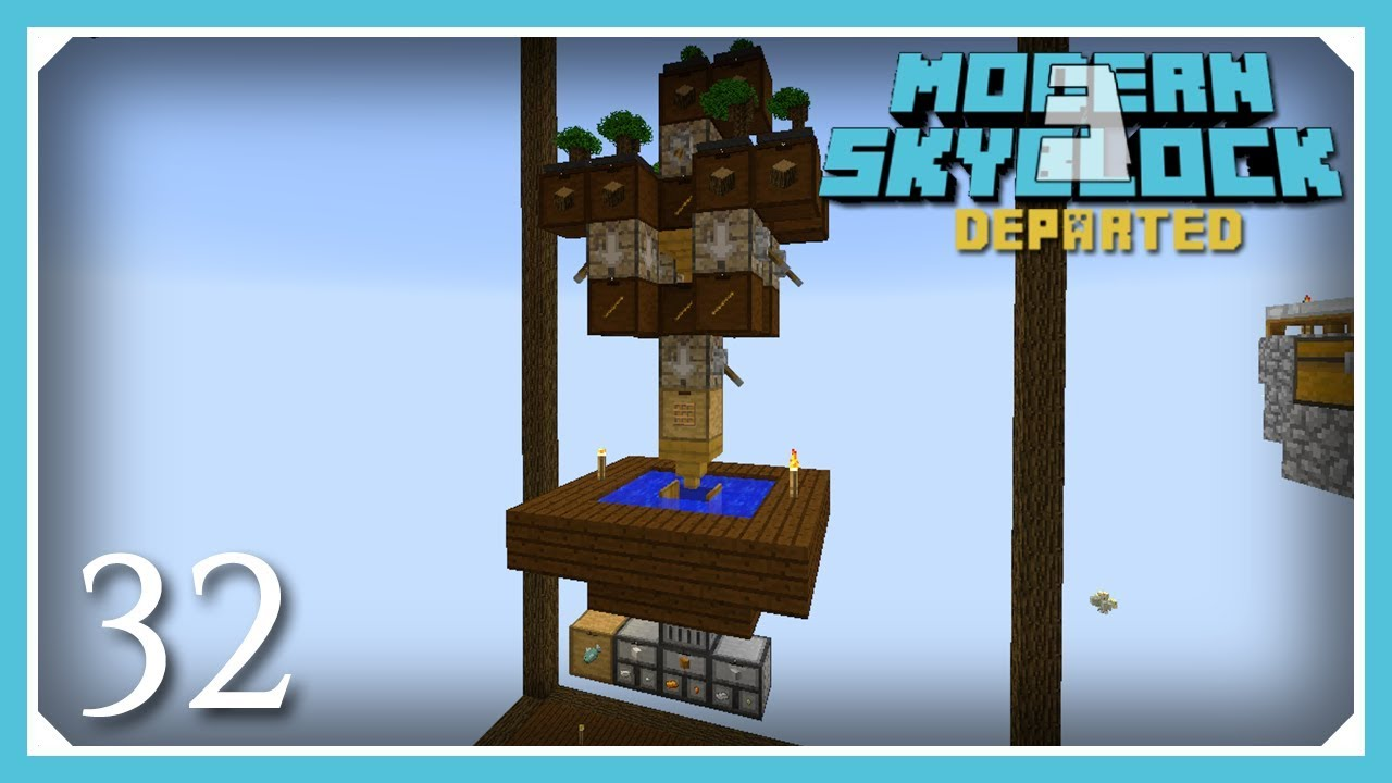 Modern Skyblock 3 Departed   Automating Cobble, Stone & Iron!   E32 (Modern  Skyblock 3 Gated)