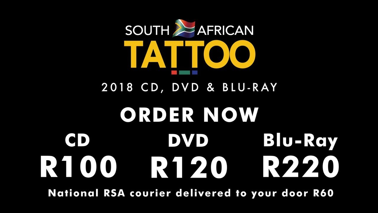 2018 South African Tattoo Dvd