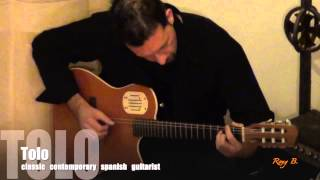 Mallorca guitarist Tolo - classic, contemporary and spanish tunes for wedding ceremony