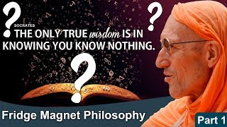 Fridge Magnet Philosophy (Part-1)