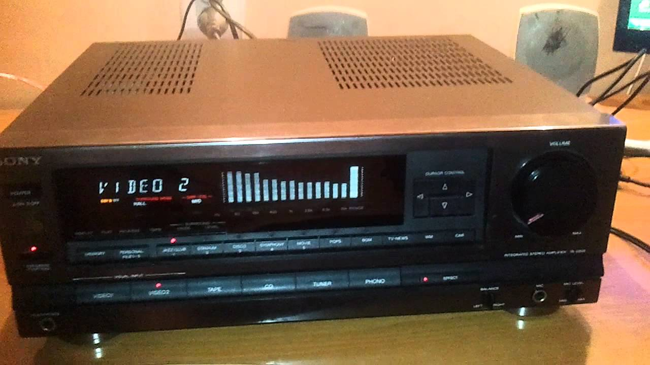 sony ta d505 mp4 youtube rh youtube com Sony Car Audio Amplifiers Sony Home Theater Amplifier