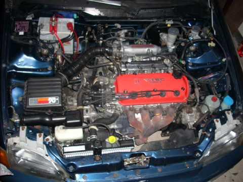 Honda Civic EG8 D15 Mini Me.wmv - YouTube