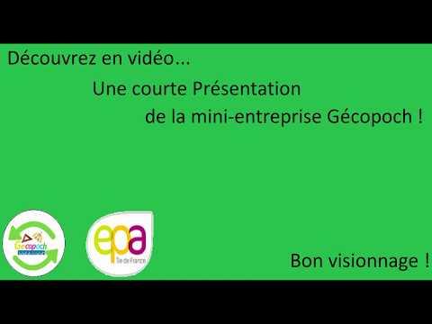 Presentation De La Mini Entreprise Epa Youtube