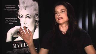 My Week With Marilyn: Official Sit Down Interview Julia Ormond Part 2 [HD]