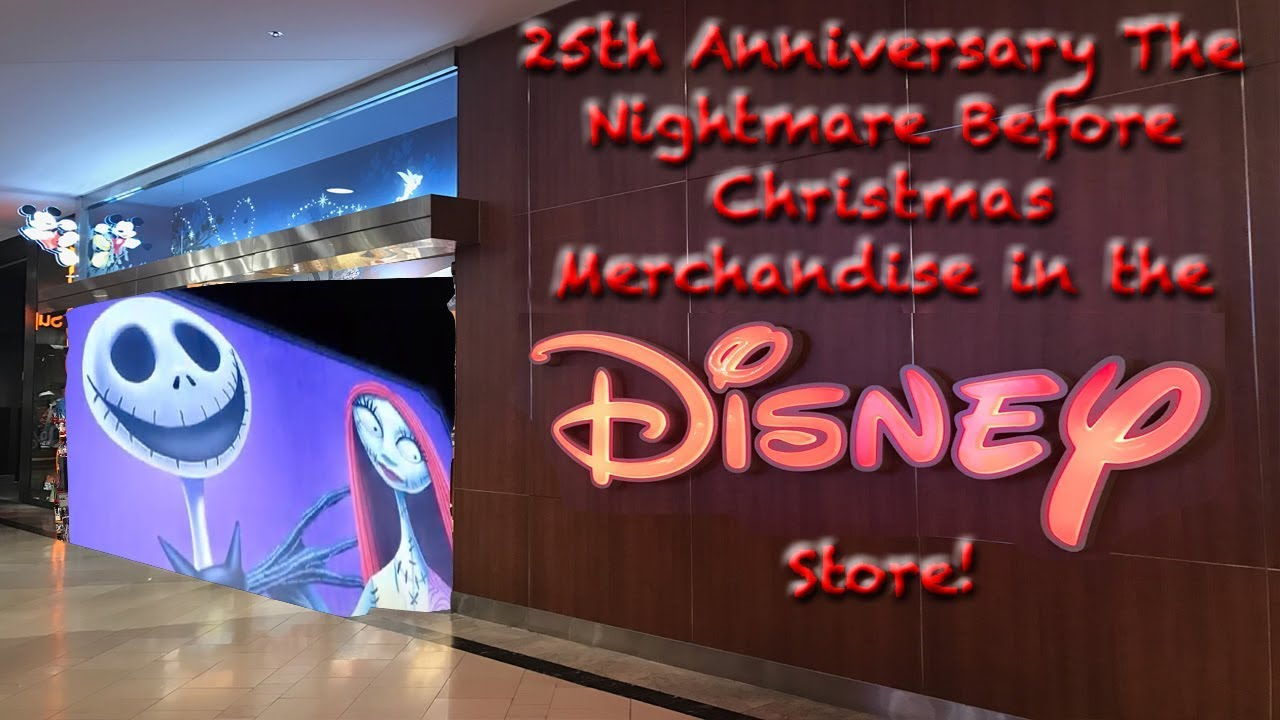 25th Anniversary The Nightmare Before Christmas Merchandise in the ...
