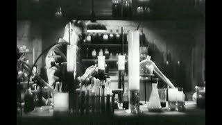 Mad Scientist WereWolf Horror Movie - The Mad Monster (1942)