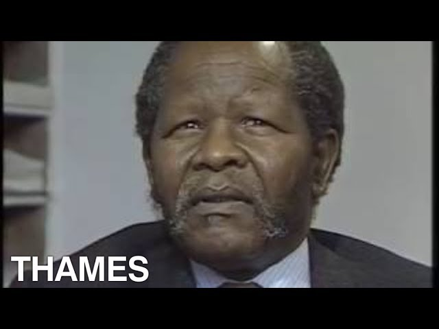South Africa | African National Congress | Oliver Tambo interview | A Plus 4| 1985