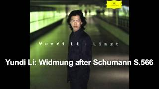Yundi Li Widmung after Schumann S 566