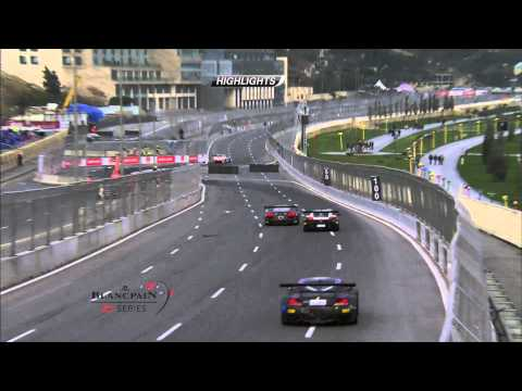 Blancpain Sprint Series - Baku - Qualifying Race - Short Highlights.