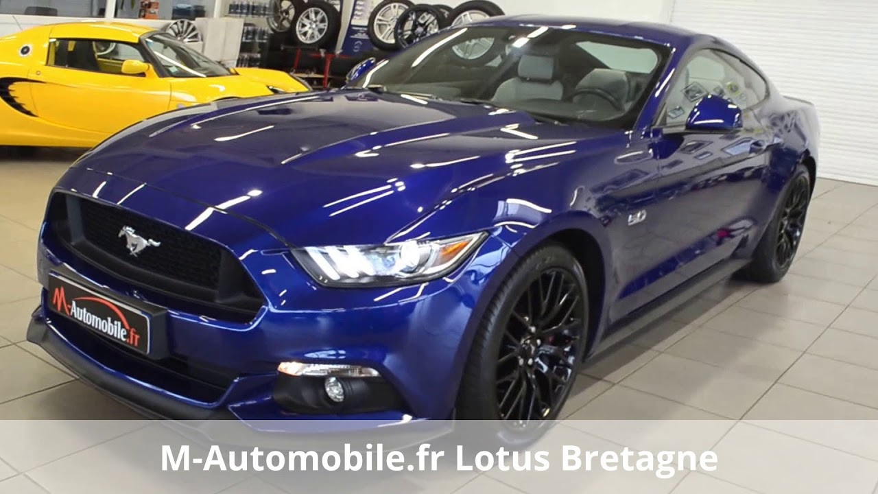 Ford mustang occasion brest m automobile fr lotus bretagne