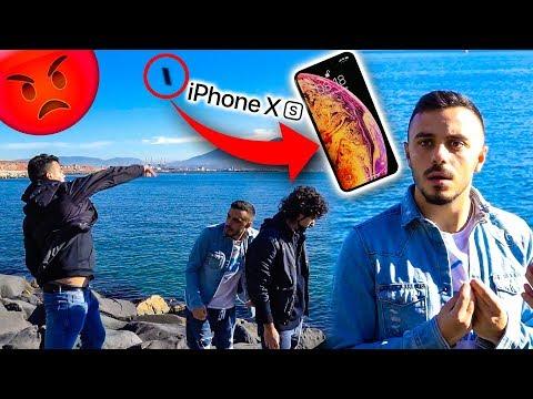 MI HANNO BUTTATO L'IPHONE XS A MARE!!!