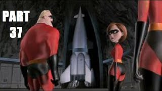 The Incredibles Video Game: Walkthrough Part 37 - Rocket Silo - Mission 17