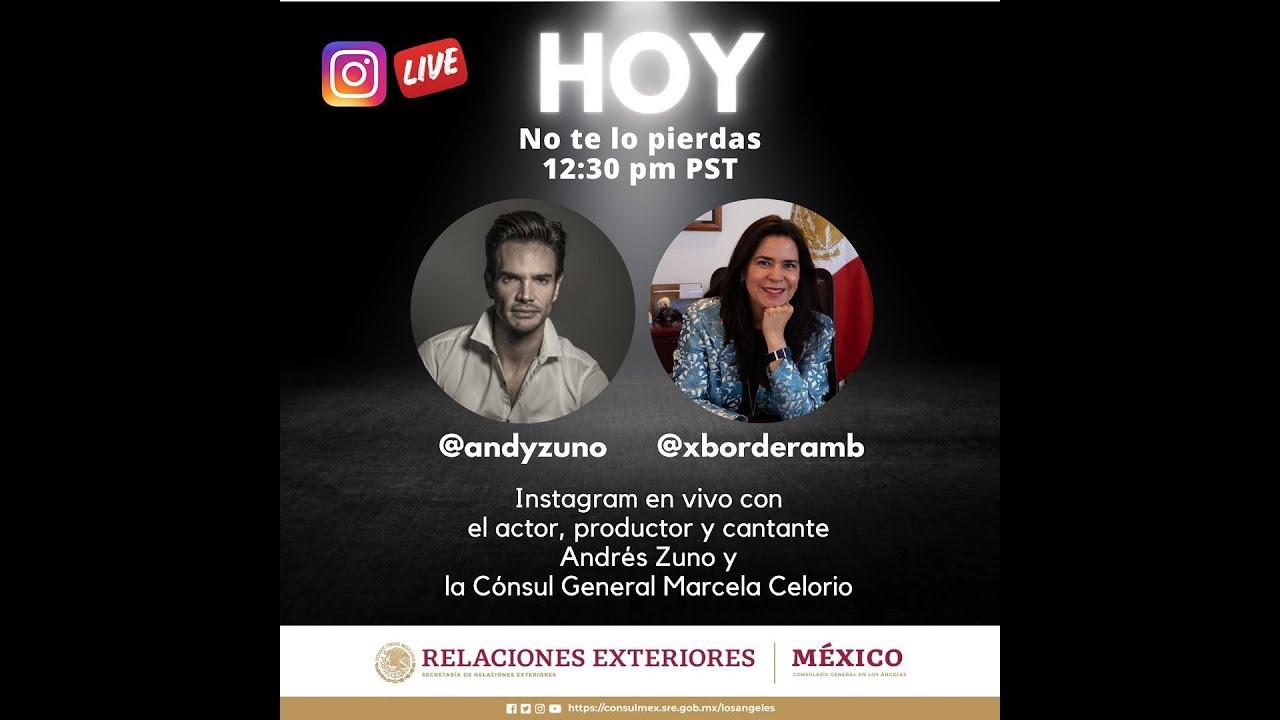 Conversación con el actor, productor y cantante Andres Zuno