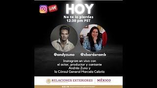 Conversacion con el actor Andres Zuno | 9 de noviembre