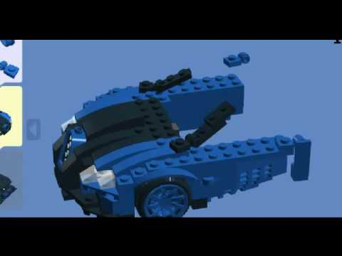 lego bugatti veyron lego digital designer youtube. Black Bedroom Furniture Sets. Home Design Ideas