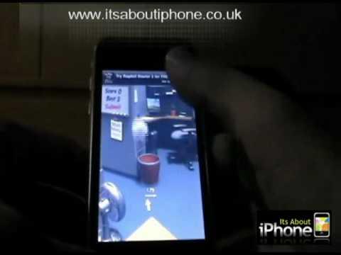 iphone app: Paper Toss backflip studio