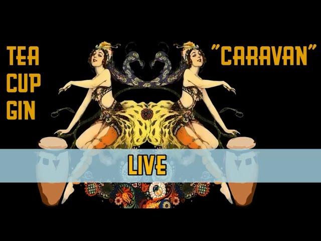 """Tea Cup Gin - """"CARAVAN"""" - LIVE"""