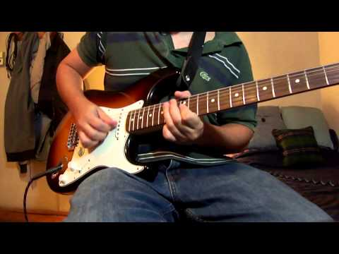 Tell me Baby - Red Hot Chili Peppers (Guitar cover with backing track)