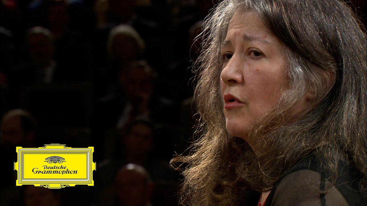 Martha Argerich & Riccardo Chailly – Schumann: Piano Concerto, Op. 54: 2. Intermezzo (excerpt)