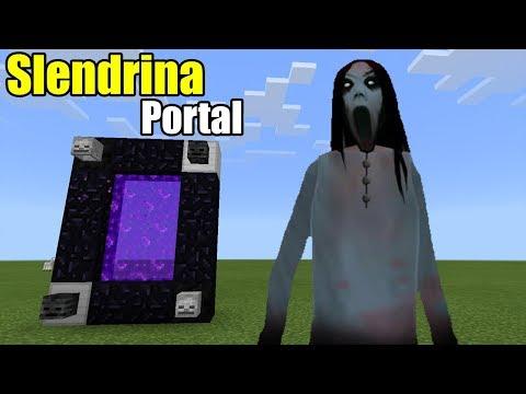 Slendrina Portal   Minecraft PE