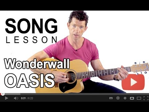 How to Play Wonderwall by Oasis with Mark McKenzie