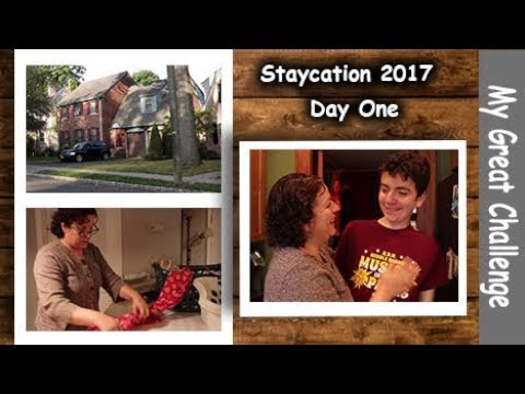 Staycation 2017 || Day One || Cleaning, Shopping and Loads of Laundry