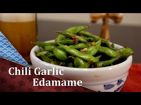 How to make Chili Garlic Edamame
