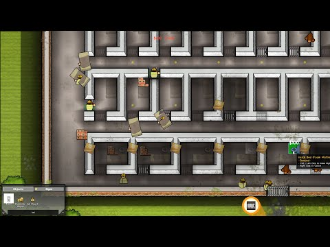 I was sponsored to create paradise in Prison Architect |