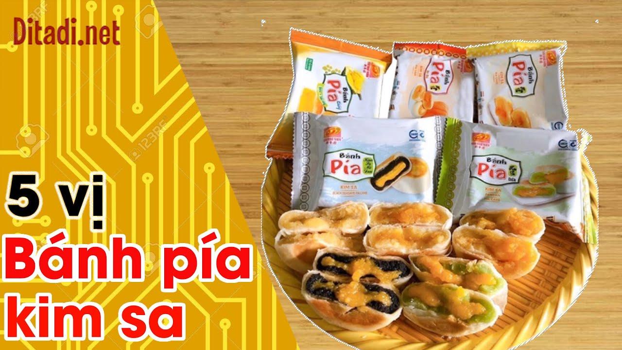 [Đánh giá] Bánh Pía mini kim sa 5 vị Tân Huệ Viên Sóc Trăng - Ditadi.net