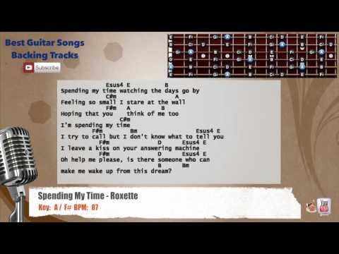 Spending My Time - Roxette Vocal Backing Track with chords and lyrics