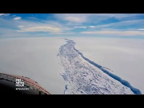 Larsen C Ice Sheet Breaks Off. What Next?