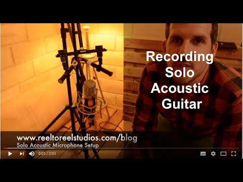 Solo Acoustic Mic Technique Online Mixing and Mastering Recording Studio Engineering Australia