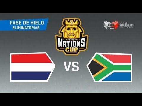 PAYS BAS de SURGICAL GOBLIN vs AFRIQUE DU SUD ! CLASH ROYALE NATIONS CUP MATCH OFFICIEL