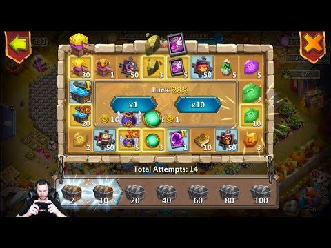 JT's Main NEW EVENT Prospector WHEEL For The Goods Castle Clash