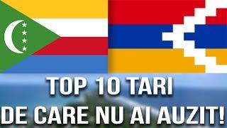Top 10 Tari de care NU ai AUZIT!