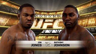 EA Sports UFC - Jon Jones vs. Anthony Johnson UFC 187 Fight Prediction (Full Fight HD)
