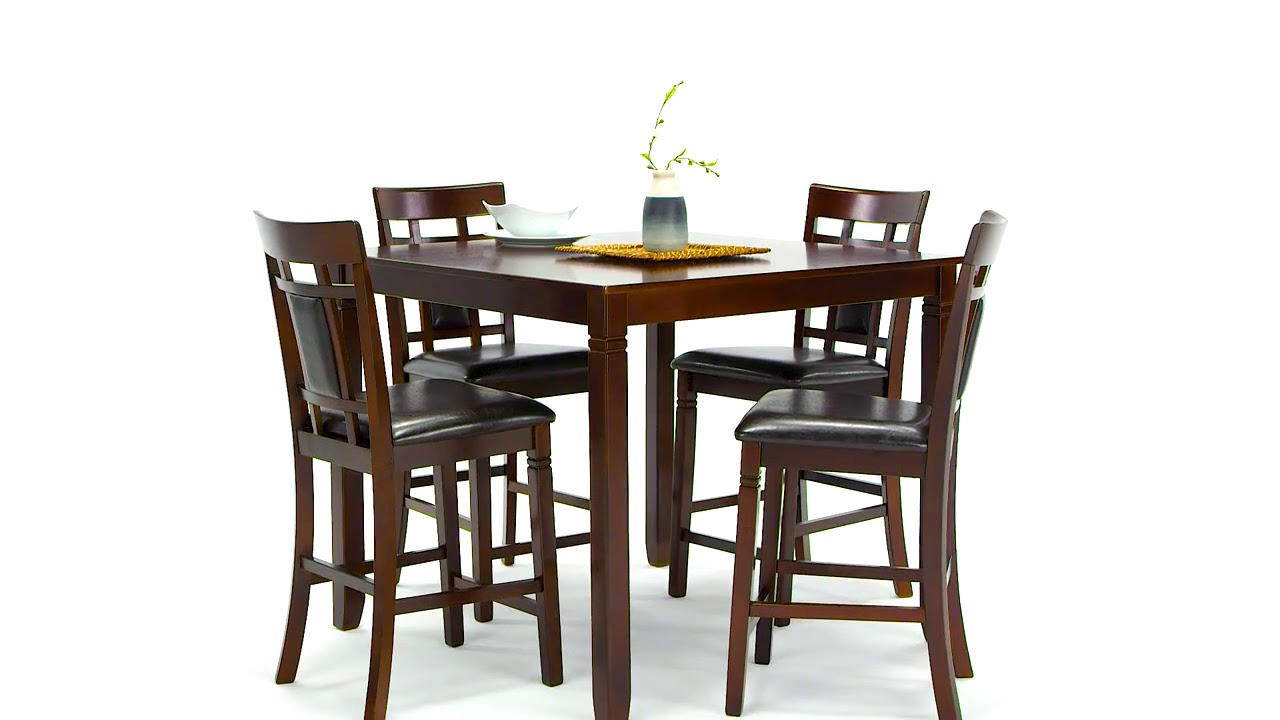 Bennox Brown 5 Piece Counter Height Dining Room Set From Ashley
