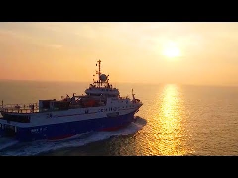 China's deep water geophysical vessel explores South American waters