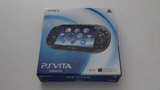 Unboxing: PS Vita (Wifi)
