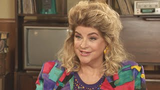 Kirstie Alley Dishes About Cast of 'Cheers' Reuniting on 'The Goldbergs' (Exclusive)