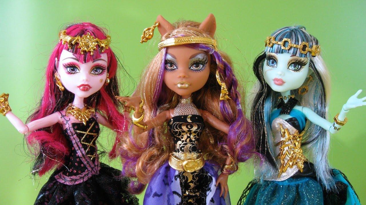 Monster High 13 Deseos Clawdeen Wolf Draculaura Y Frankie Stein Juguetes De Monster High