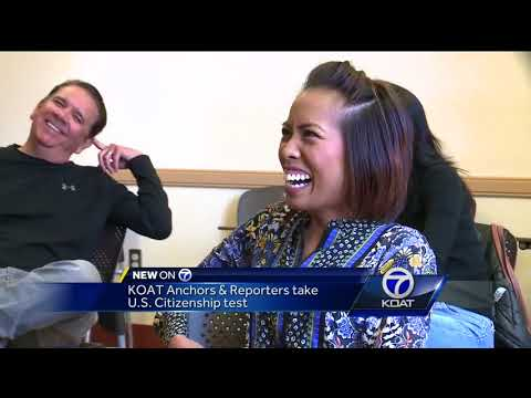 KOAT anchors and reporters take U.S. Citizenship test