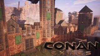 Conan Exiles - City Walls (Speed Build)