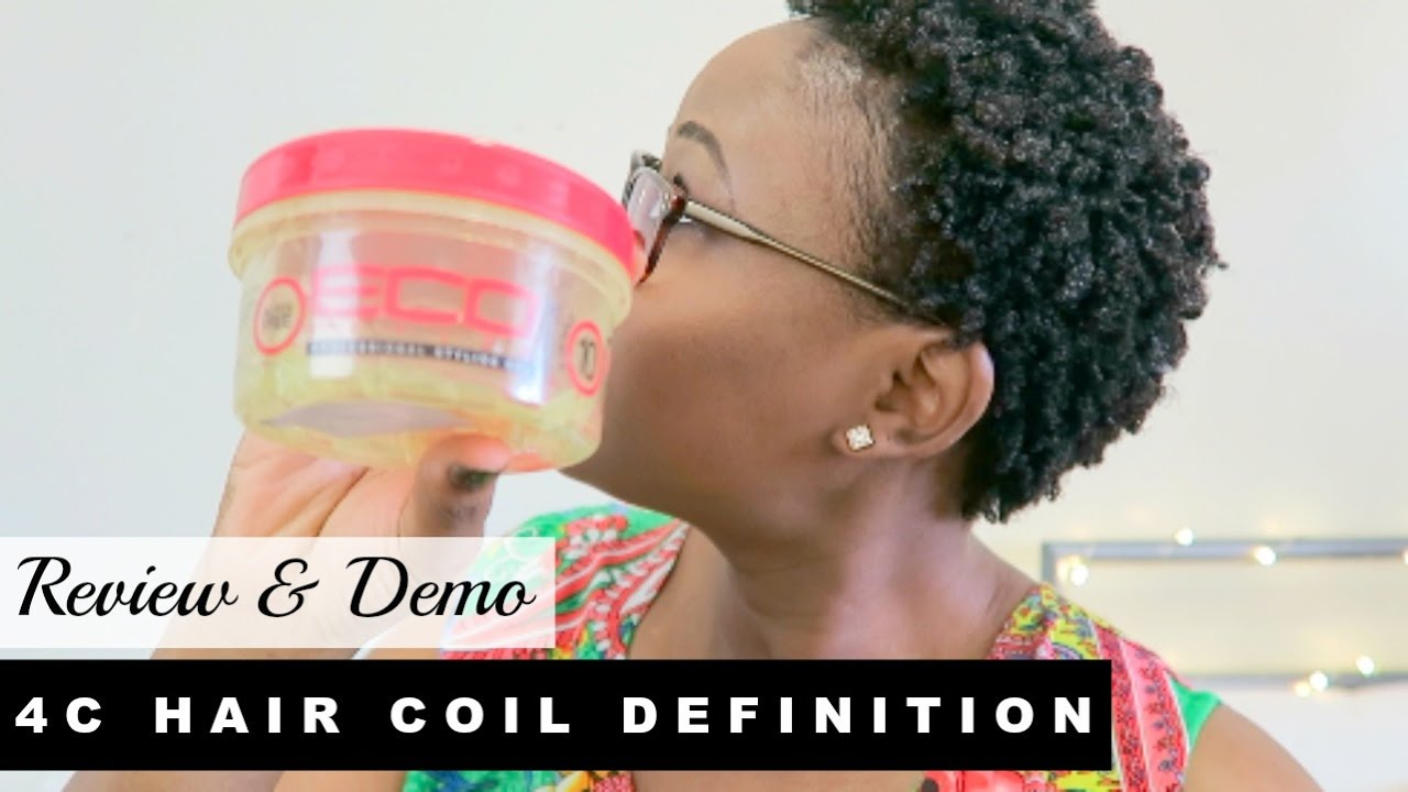 Curl Definition For Short Natural 4b 4c Kinky Hair Eco
