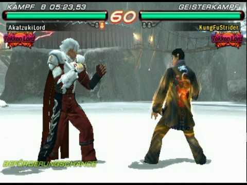 Tekken 6 Psp Ranking Match Tekken Emperor Youtube