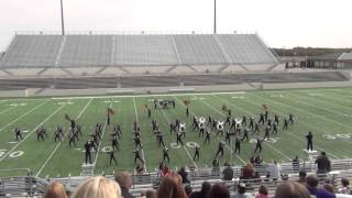 10 17 2015 mighty marching maroon band at uil region 2 contest