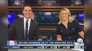 Tyler Mauldin's Last Day at WPTV
