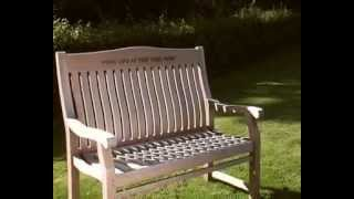 Wooden Bench Engraving - A Unique Gift To Remember